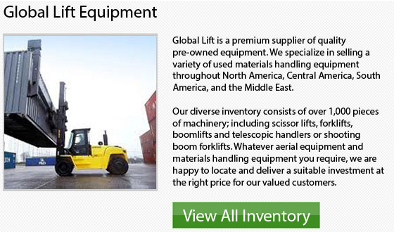 Cat Large Capacity Forklifts